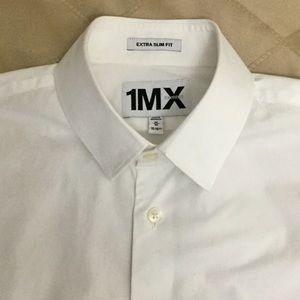 💼 Men's Express 1MX Extra Slim Fit Dress Shirt